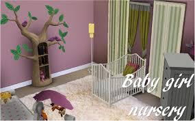 Baby Girls Nursery Sims 3 Baby Nursery Youtube