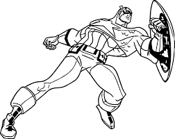captain america coloring pages marvel characters printable