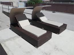 Chaise Lounge Patio Furniture Wicker Canopy Patio Furniture Chocolate