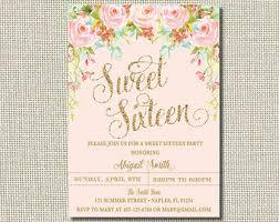 sweet 16 invitations sweet sixteen invitation sweet sixteen party invitation