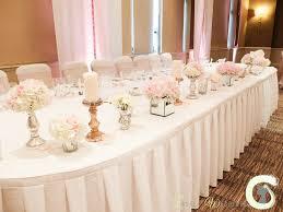 Mirrored Cube Vases Elegant Pale Pink Wedding At The Mere Resort Laurel Weddings