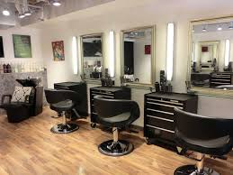 Hair Shop Interior Design Interior Salon Design Ideas With Wooden Floor Photos Homescorner Com