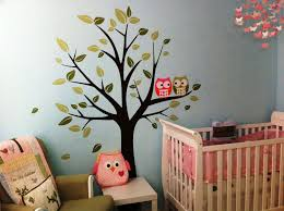 Ocean Wall Decals For Nursery by Baby Nursery Best Owl Wall Decals For Nursery With Cream Square