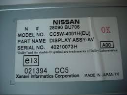 nissan almera tino for sale now sold nissan almera tino radio sat nav information screen and