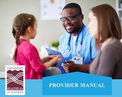 provider manuals