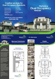 Dual Occupancy Floor Plans Dual Multi Occupancy Unit Development Optimal Homes