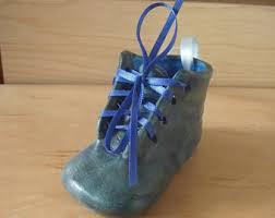 baby shoe ornament etsy
