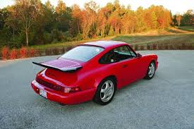 porsche 911 america when less is more 1993 94 porsche 911 rs america hemmings