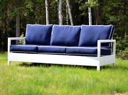 DIY Outdoor Sofa Finelymade Furniture - White outdoor sofa