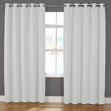 naples luxury lined eyelet curtains pair julian charles
