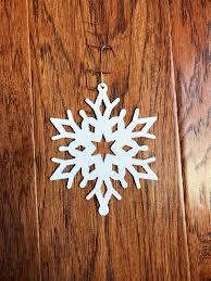 snowflake christmas tree ornament metal design 1 christmas