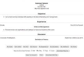 create free resumes hitecauto us