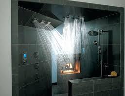 Bathroom Shower Systems Waterfall Shower Kohler Clocks Shower Systems Held