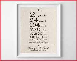 second anniversary gift ideas for him 2nd anniversary present gallery of wedding idea 327593