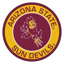 Arizona Rug State Pitchfork Logo Logo Roundel Mat 27