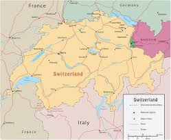 Map Central Europe by Map Switzerland Travel Europe