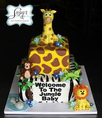 jungle baby shower cakes sugar bakery connecticut cupcakes ct cupcakes cakes baby