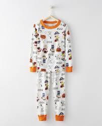 peanuts pajamas in organic cotton