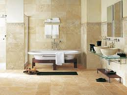 travertine bathroom noble chic and authenticity of natural stone