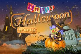 free cute halloween background happy halloween party illustrations creative market