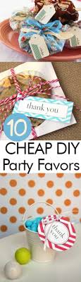 inexpensive party favors 10 cheap diy party favors my list of lists