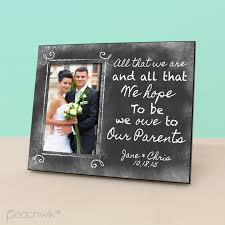 Wedding Albums For Parents To Our Parents Parents Wedding Thank You Gift Chalkboard