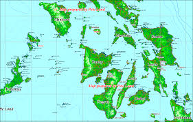 Map Of Phillipines Maps And Bottom Topography Of The Philex Region