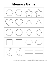 free worksheets printable cut out shapes free math worksheets