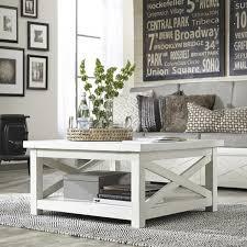 Nebraska Furniture Mart Living Room Sets Seaside Lodge Coffee Table In Hand Rubbed White Nebraska
