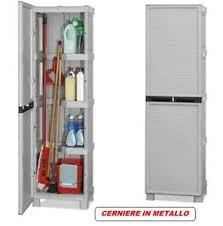 armadietto resina armadio mobile armadietto box portascope in resina per esterno