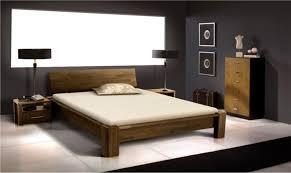 chambre adulte bois lit bois massif design pour chambre a coucher adulte