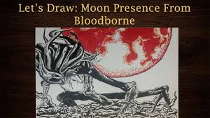 let u0027s draw the moon presence from bloodborne youtube