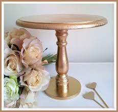 gold cake stands diy gold cake stand sweetly chic events design