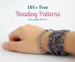 around the beading table 101 free beading patterns favecrafts com