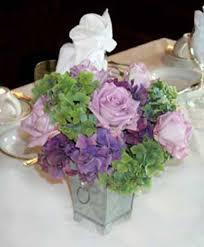 Hydrangea Centerpiece Hydrangea Wedding Centerpiece
