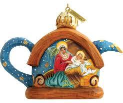 g debrekht nativity teapot ornament reviews wayfair