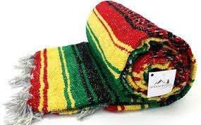 amazon com rasta falsa mexican yoga blanket or towell authentic
