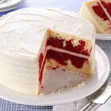 Halloween Red Velvet Cake by Red Velvet Marble Cake Recipe Taste Of Home
