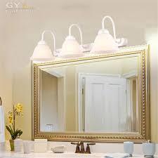 Led Bulbs For Bathroom Vanity Popular Lighted Bathroom Vanity Mirror Buy Cheap Lighted Bathroom