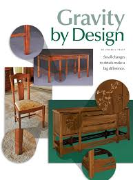 Woodworking Magazine Pdf by Darrell Peart U0027s U0027arched Aurora Nightstand