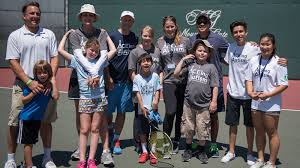 aceing autism u0027s celebrity tennis exhibition at mountaingate