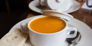 ginger butternut squash soup with ginger recipe epicurious com