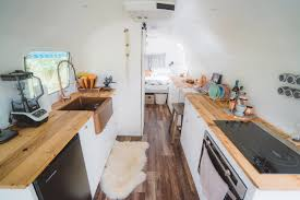 Vintage Airstream Interior by The Airstream Renovation Is Complete Our Journey Renovating A