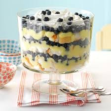 blueberry lemon trifle recipe taste of home