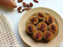 sweet potato pie bites paleo gluten free homemaker