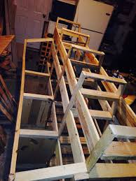 Mobile Lumber Storage Rack Plans by 9 Best Mobile Lumber Storage Rack Using All Pallet Wood Images On