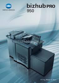 manual de instrucciones konica minolta bizhub pro 950