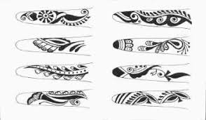 Finger Tribal - best tattoos pictures finger tattoos
