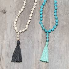 handmade long necklace images Aobei pearl handmade long necklace with skull head shape jpg