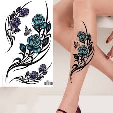 online buy wholesale purple flower tattoos from china purple
